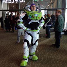 Rawrbomb as Buzz Lightyear at ECCC 2012 Saturday