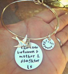 A personal favorite from my Etsy shop https://www.etsy.com/listing/224857446/the-love-between-a-mother-and-daughter