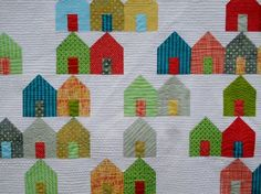 """❤ =^..^= ❤ Most of the print fabrics are from Sue Spargo's latest line from Robert Kaufman, called """"Folkloric""""."""
