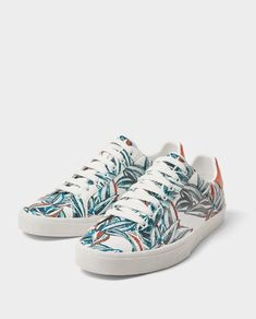 PLIMSOLLS WITH FLORAL EMBROIDERY-View all-SHOES-MAN | ZARA United States