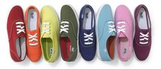 Keds and all they imitations are so comfortable and cheap. You can buy a pair in any color to match all your outfits. Perfect for the summer.