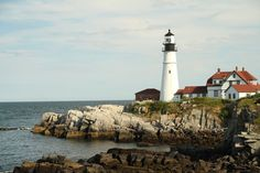 The Portland Head Lighthouse 1787 is the oldest lighthouse in Maine.