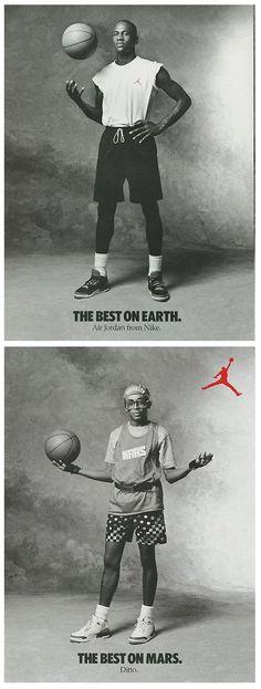 Nike Air Jordan Advert