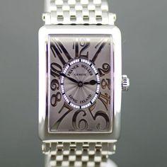 【中古】FRANCK MULLER(フランクミュラー) 952 ロングアイランド クオーツ SS ボーイズ/ゆったりとしたラインと美しいデザインを持ったフェイスからフランクミュラーの風格を存分に感じる事ができます。/新品同様・極美品・美品の中古ブランド時計を格安で提供いたします。