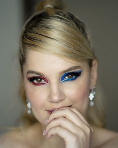 #iMikriOllandeza #MikriOllandeza #makeup #boldmakeup #differenteyemakeuplooks #aesthetic #naturalbrows #septum #septumpiercing #septumring #falselashes #redmakeup #bluemakeup #cateye #cateyemakeup #makeuplook #2020 Cat Eye Makeup, Red Makeup, Makeup Looks, Natural Brows, False Lashes, Septum Ring, Eyes, Rings, Red Dress Makeup