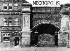 The purpose-built London Necropolis Railway launched in 1854 and transported dead bodies from this station (pictured) close to Waterloo, directly to the Brookwood Cemetary in Surrey for burial Victorian London, Vintage London, London History, British History, Asian History, Tudor History, History Photos, History Facts, Old London