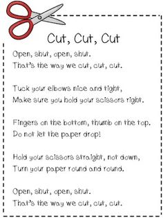 Back to Basics: Cutting and Gluing Kinder Style  - repinned by @PediaStaff – Please Visit  ht.ly/63sNt for all our ped therapy, school & special ed pins