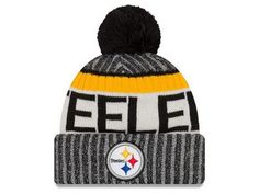 Pittsburgh Steelers New Season Sports Beanie Cuffed Winter Knit Cap  Pittsburgh Steelers Hats 3f0e6a663