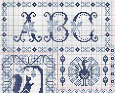 Informations : Taille de la grille (Pattern size ) :       182 x262 points      5.5 points/cm 14 count ( 28 count) 33.2 cm...