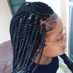 The gorgeous rope twist is one of the most loved African hairstyles worn by a lot of women across the world. These versatile braids are included among the