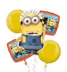 Despicable Me Party Supplies Despicable Me Birthday Ideas Party