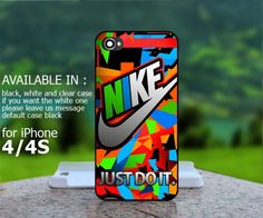 AJ 314 Nike Just Do It Colorful Triangle - iPhone 4/4s Case | BestCover - Accessories on ArtFire