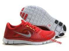check out d0c32 50b88 More and More Cheap Shoes Sale Online,Welcome To Buy New Shoes 2013 Womens Nike  Free Run 3 Gym Red Sail Reflect Silver Shoes  New Shoes - Womens Nike Free  ...