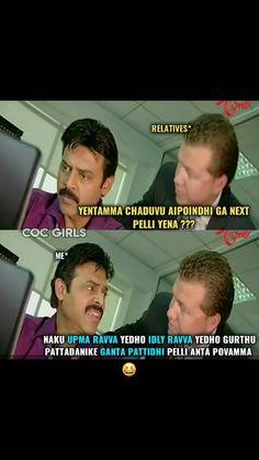 27 Best Telugu Memes Images Telugu Jokes Memes Funny Jokes