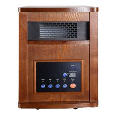 Pro 6 Element 1500W Infrared Quartz Heater Large Room w/ Remote Control New - Household Appliances - Home & Garden