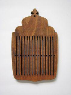 Rigid heddle loom medieval pattern