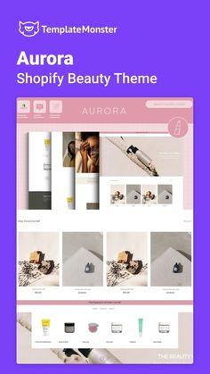 Font Styles, Ecommerce, Aurora, Templates, Beauty, Shopping, Color, Stencils, Colour