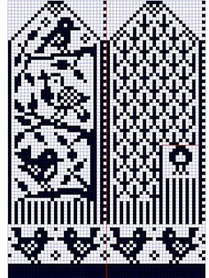 Мобильный LiveInternet Узоры для вязания варежек. Схемы для вязания.   Юлия_Ж - Дневник Юлия_Ж  