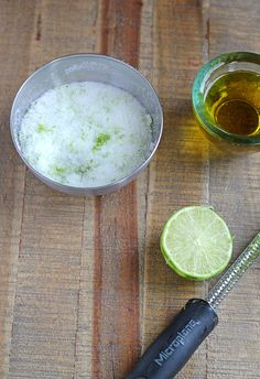DIY Margarita Body Scrub