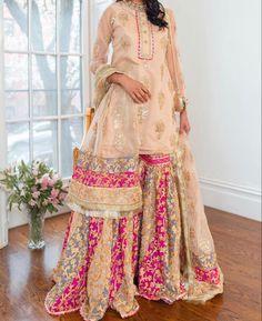 Asian Wedding Dress Pakistani, Desi Wedding Dresses, Pakistani Fashion Party Wear, Indian Bridal Outfits, Pakistani Outfits, Wedding Wear, Bollywood Fashion, Indian Fashion, Bridesmaid Dresses