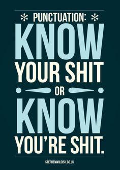 Punctuation!