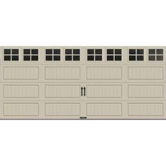 Clopay Value Series 8 Ft X 7 Ft Non Insulated Garage