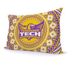 Tennessee Technological University TTU Golden Eagles Kaleidoscope Pillow Case | MadeLoyal