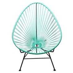 Check out this item at One Kings Lane! Acapulco Lounge Chair, Mint
