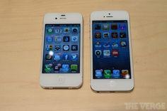 iPhone 4S vs iPhone 5