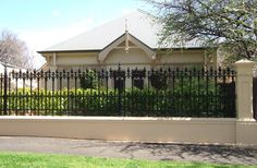 Traditional Wrought Iron Fence Styles