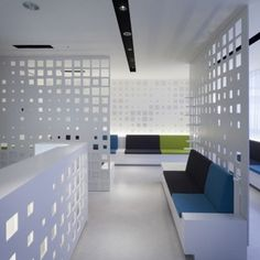 G Clinic 7f by KORI architecture office  and Arimoto Yushiro  - partition design