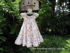 Swing Dress PDF and PAPER Pattern by Handmaiden's Cottage