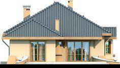 Elewacja DN Verona CE Beautiful House Plans, Beautiful Homes, Home Fashion, Verona, My House, 1, Cabin, House Styles, Outdoor Decor