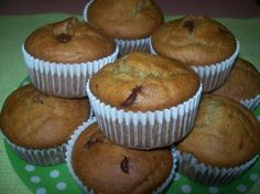 Nigella's choc chip banana muffins - A Thermomix Forum sharing recipes, ideas and questions.