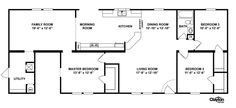 Interactive Floorplan CMB28683F | 25CMB28683FH | Clayton Homes of Hendersonville - Hendersonville, NC