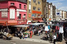 Petticoat Lane Market,Consisting of Middlesex Street Market and Wentworth Street Market