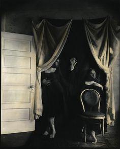 Spirit Photograph - Holding Hands