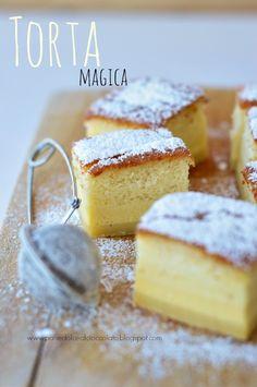 Lo ammetto, non ho resistito alla tentazione di provare questa torta davvero magica....ho cercato di evitarla fino alla fine perch...