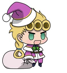 Its the most padoru time of the year - ShitPostCrusaders Jojo Anime, Anime Chibi, Kawaii Anime, Jojo's Bizarre Adventure Anime, Jojo Bizzare Adventure, Madara Susanoo, Otaku, Happy Merry Christmas, Christmas Stickers
