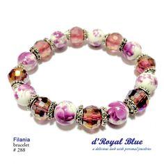 Items under #pink and #purple. Segala yang pink dan #ungu. #gelang #bracelet #handmade #handmadebracelet #accessory #accessories #aksesorishijab #aksesorisjilbab #statementbracelet #crystals #ceramicbeads #bead #beads