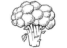 Desenhos para Colorir: alimentação