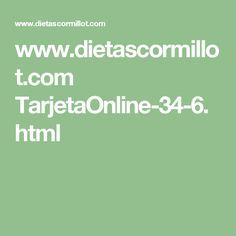 www.dietascormillot.com TarjetaOnline-34-6.html