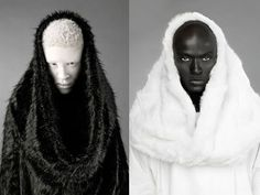 Melanistic Human | Displaying (20) Gallery Images For Melanistic Vs Albino...