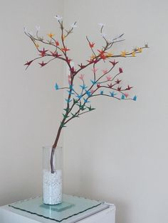 Another Paper Crane Display Idea