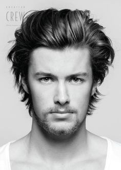 Hairstyle Men · Medium Haircuts · Boy Hair · Corte De Cabelo E Estilo
