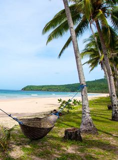 Nacpan Beach; paradijs bij El Nido