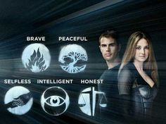I got: Divergent! Which Book Series Do You Belong In?