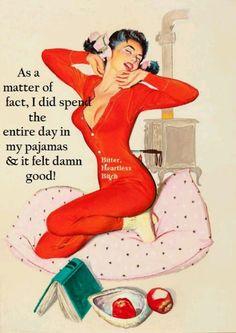 Yep, gotta love pajama days!