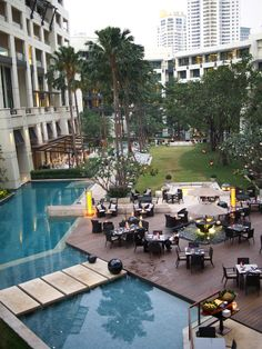 siam kempinski bangkok pool http://www.theprovocativecouture.com/