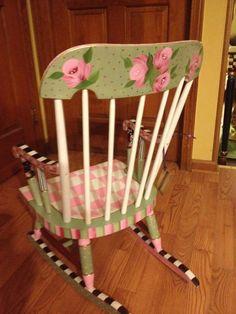childs rocking chair